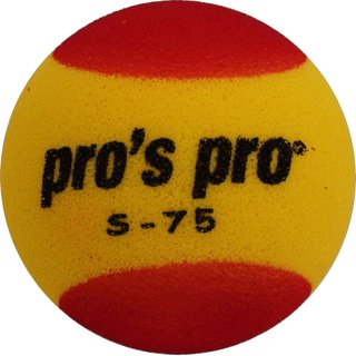 PROS PRO S-75 YELLOW/RED