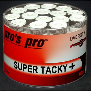 PROS PRO SUPER TACKY PLUS 60 WHITE