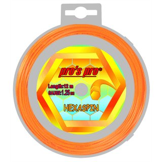PROS PRO HEXASPIN  - 1,25 ORANGE 12M